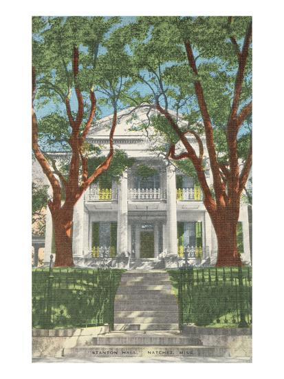 Stanton Hall, Natchez, Mississippi--Art Print