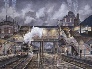 Night Train To Edinbourough by Stanton Manolakas