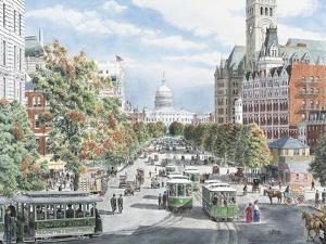 Washington D.C. Gridlock by Stanton Manolakas