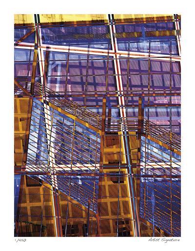 Staples Grid Patterns-Stephen Donwerth-Giclee Print