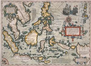 Map of the East Indies by Stapleton Collection