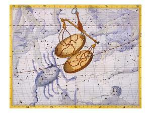 The Constellations of Libra and Scorpio by James Thornhill by Stapleton Collection