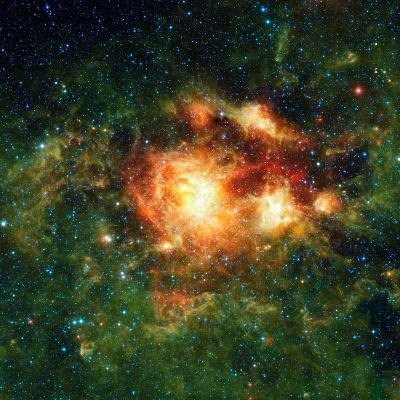 Star-birth Region, Space Telescope Image--Photographic Print