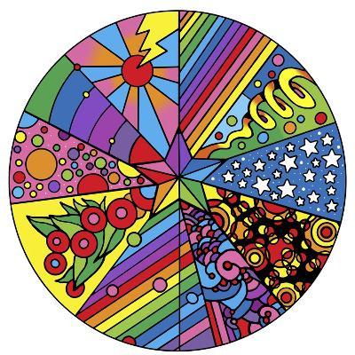 Star Circle 2-Howie Green-Giclee Print