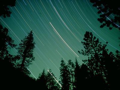 Star Circles, Sierra Nevada, USA-Olaf Broders-Photographic Print