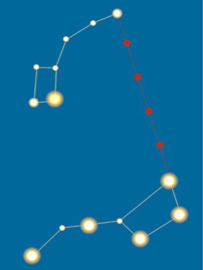 Star Constellations--Giclee Print