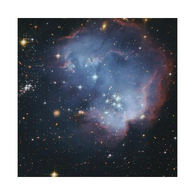 Star Forming Region in the Small Magellanic Cloud-Robert Gendler-Giclee Print
