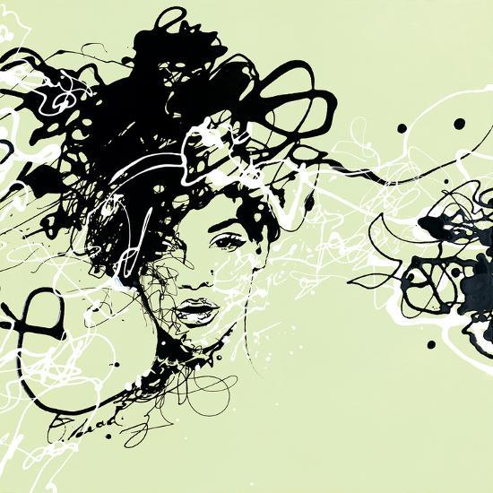 Star I - Detail-Oksana Leadbitter-Giclee Print