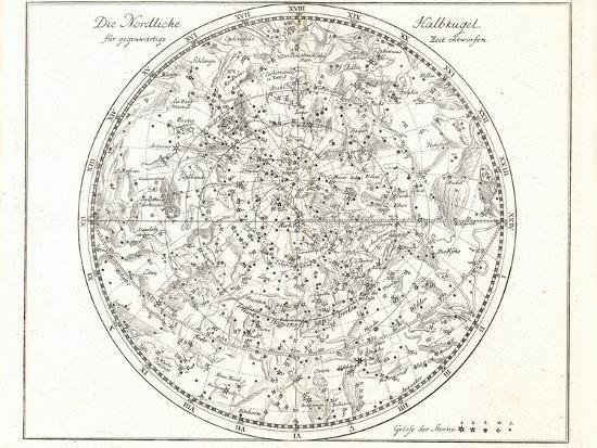Star Map Art.Star Map 1805 Photographic Print By Detlev Van Ravenswaay Art Com