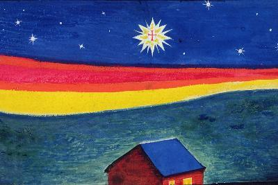 Star of Bethlehem, C.1912-Eric Gill-Giclee Print