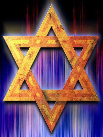 Star of David Symbol Photo by | Art.com