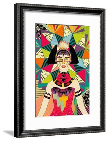 Star of Wander-Diela Maharanie-Framed Art Print