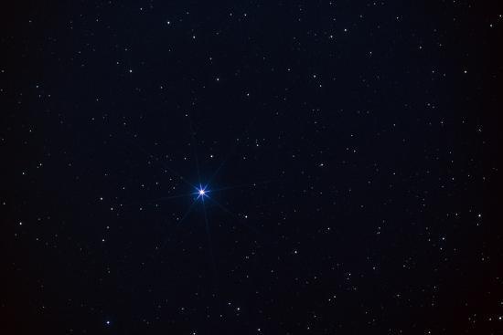 Star Spica In the Virgo Constellation Photographic Print by John Sanford |  Art com