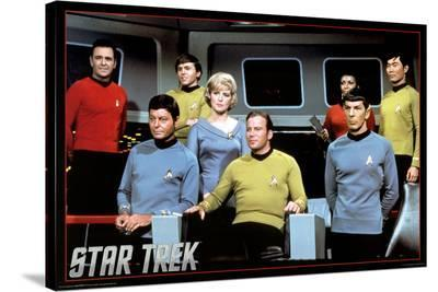 Star Trek- Cast--Stretched Canvas Print