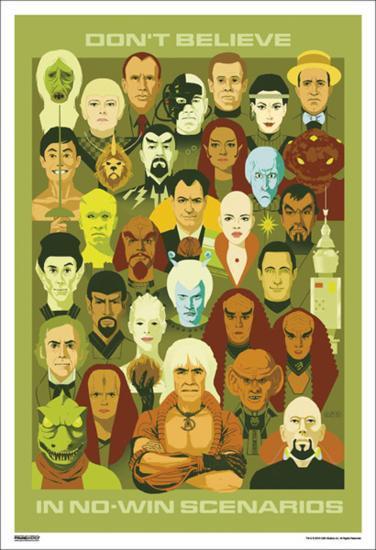 Star Trek - Don't Believe In--Art Print