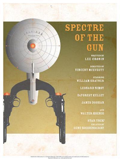 Star Trek Episode 61: Spectre of a Gun TV Poster--Poster