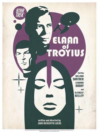 Star Trek Episode 68: Elaan of Troyius TV Poster
