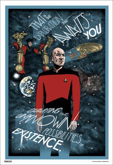 Star Trek - Exploration Awaits--Art Print