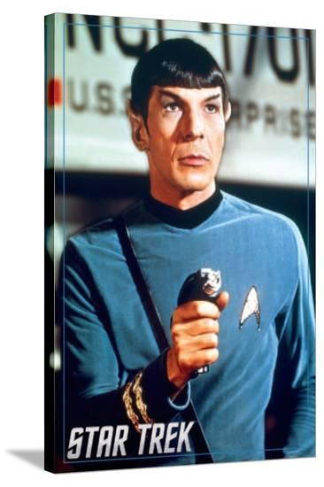 Star Trek- Spock--Stretched Canvas Print