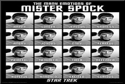 Star Trek - The Many Emotions of Mister Spock--Mounted Print