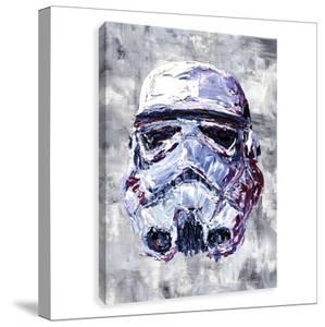 Star Wars Sorm Trooper Bust Printed Canvas
