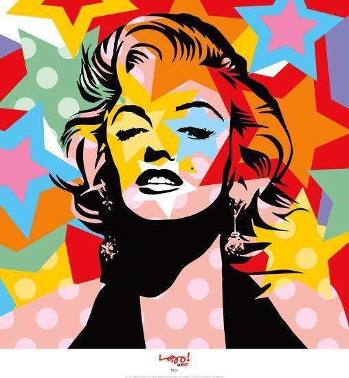 Star-Lobo-Art Print
