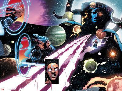 Starbrand & Nightmask No. 3 Panel Featuring Nightmask, Eternity-Domo Stanton-Art Print
