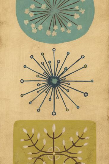 Starburst Trio I-June Erica Vess-Art Print