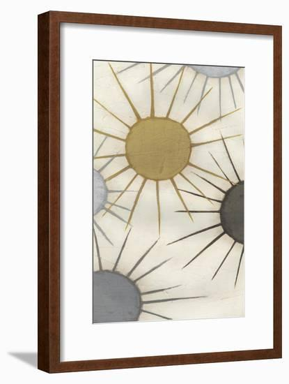 Starburst Triptych I-June Erica Vess-Framed Art Print
