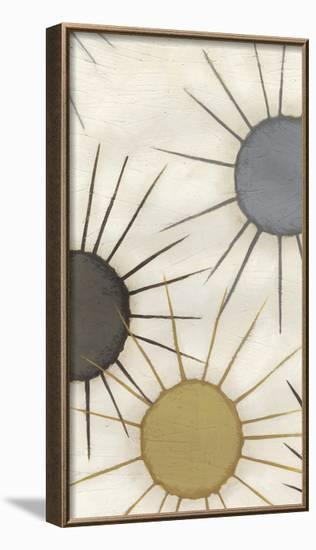 Starburst Triptych II-June Erica Vess-Framed Art Print
