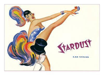 Stardust, High-Kicking Showgirl--Art Print
