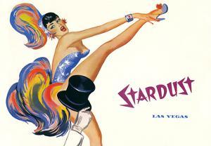 Stardust, High-Kicking Showgirl