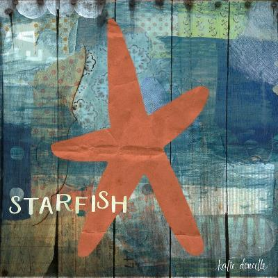Starfish Collage-Katie Doucette-Art Print