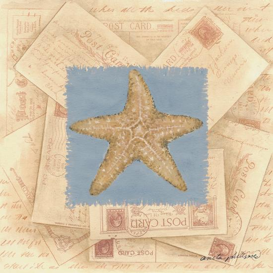 Starfish Postcard-Anita Phillips-Art Print