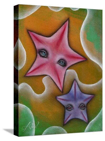 Starfish-Abril Andrade-Stretched Canvas Print