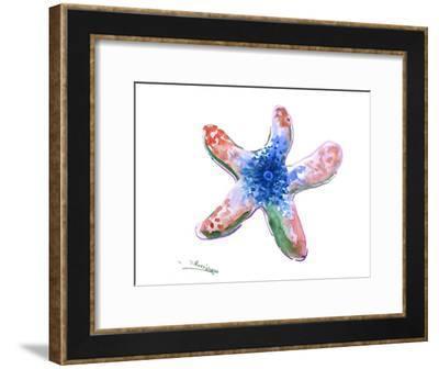 Starfish-Suren Nersisyan-Framed Art Print