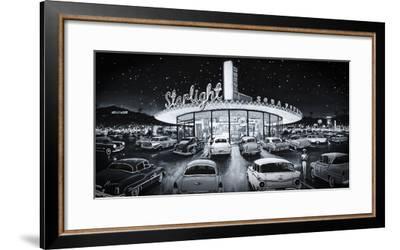 Starlight Drive-In-Shawn Mackey-Framed Giclee Print