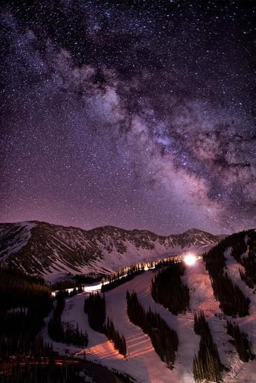 Starlight Mountain Ski Hill-Mike Berenson / Colorado Captures-Photographic Print
