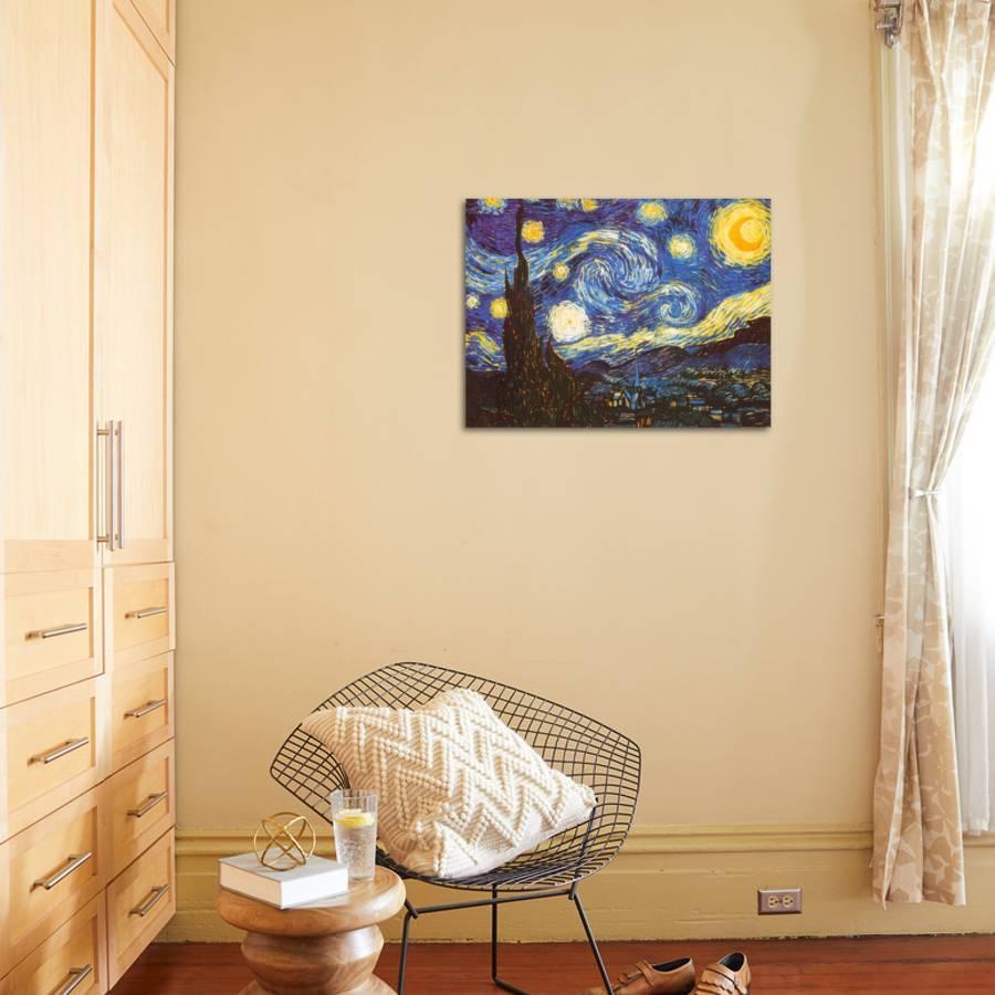 Starry Night, c.1889 Art Print by Vincent van Gogh | Art.com