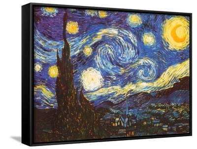 Starry Night, c.1889-Vincent van Gogh-Framed Canvas Print