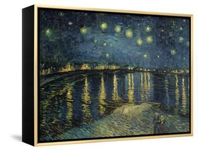 Starry Night over the Rhone, c.1888-Vincent van Gogh-Framed Canvas Print