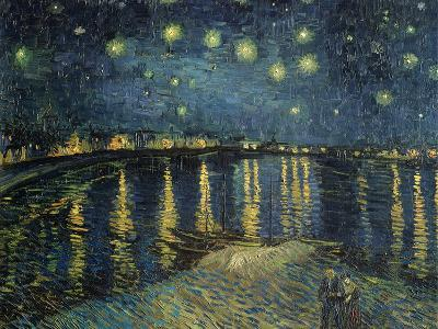Starry Night over the Rhone, c.1888-Vincent van Gogh-Premium Giclee Print