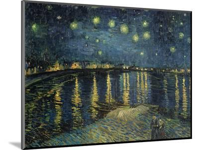 Starry Night over the Rhone, c.1888-Vincent van Gogh-Mounted Premium Giclee Print