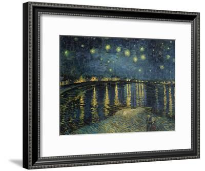 Starry Night over the Rhone, c.1888-Vincent van Gogh-Framed Giclee Print