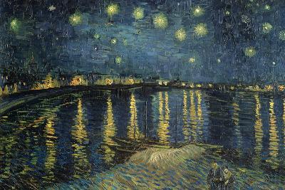 Starry Night over the Rhone, c.1888-Vincent van Gogh-Giant Art Print