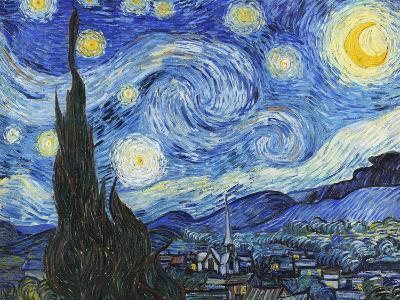 Starry Night-Vincent van Gogh-Art Print