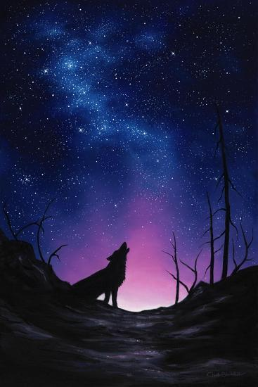 Starry Nights-Chuck Black-Giclee Print