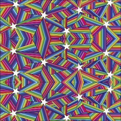 Stars A-Howie Green-Giclee Print