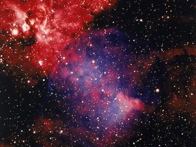 Stars and Nebula-Terry Why-Photographic Print