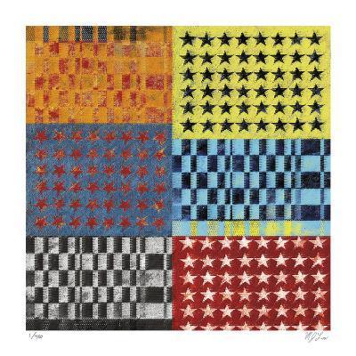 Stars and Stripes-Mj Lew-Giclee Print